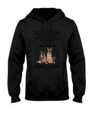 German Shepherd Love Dad 3005 Hooded Sweatshirt thumbnail