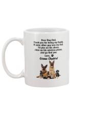 German Shepherd Love Dad 3005 Mug back