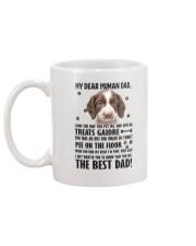 English Springer Spaniel Human Dad 0206 Mug back