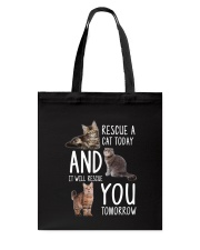Rescue A Cat 2505 Tote Bag thumbnail