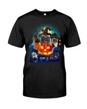 ao mau mau xam Classic T-Shirt front