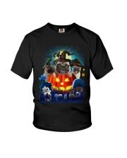 ao mau mau xam Youth T-Shirt thumbnail