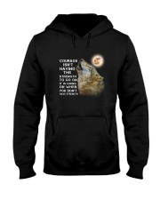 Wolf Courage 3105 Hooded Sweatshirt thumbnail