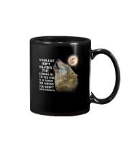 Wolf Courage 3105 Mug front