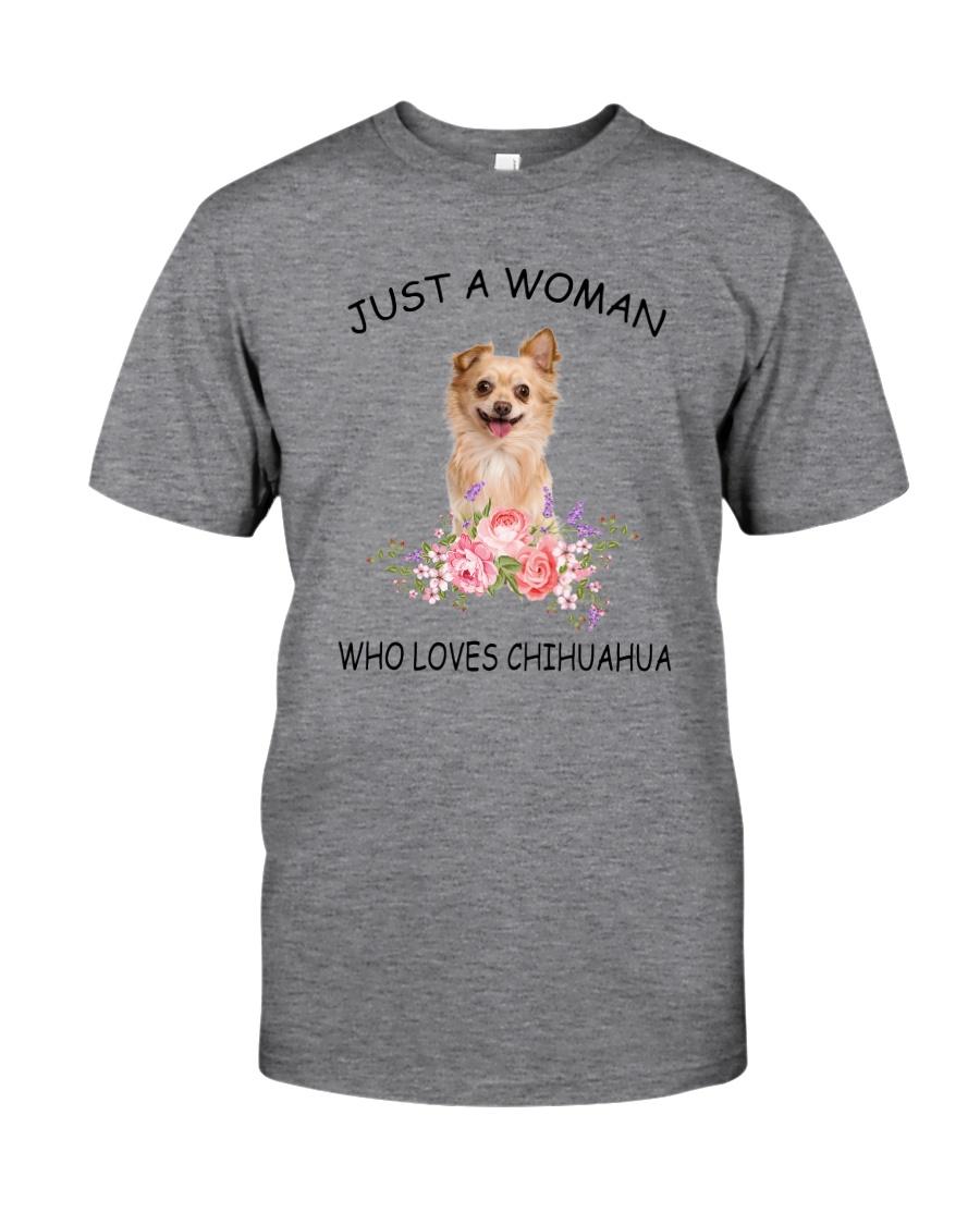 Chihuahua Love Woman 2104 Classic T-Shirt