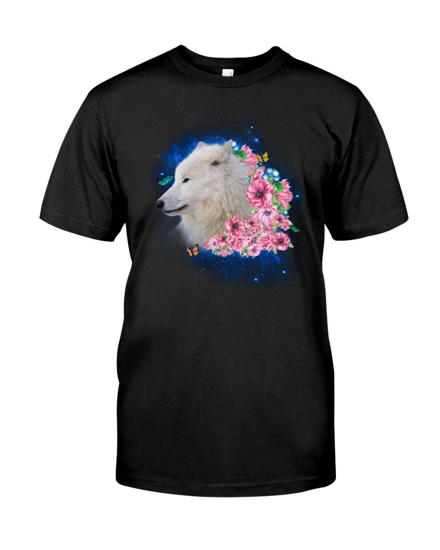 Wolf Flower 1005 Classic T-Shirt