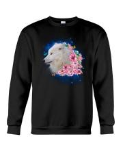 Wolf Flower 1005 Crewneck Sweatshirt thumbnail