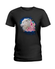 Wolf Flower 1005 Ladies T-Shirt thumbnail