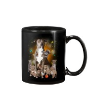 Pitbull Smile Mug tile