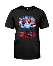Black Cat Holiday D2105 Classic T-Shirt front