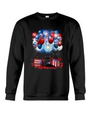 Black Cat Holiday D2105 Crewneck Sweatshirt thumbnail