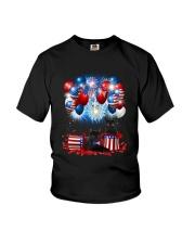 Black Cat Holiday D2105 Youth T-Shirt thumbnail