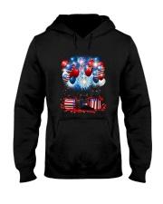 Black Cat Holiday D2105 Hooded Sweatshirt thumbnail