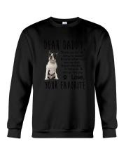 Boston Terrier Daddy Favorite 1805 Crewneck Sweatshirt thumbnail