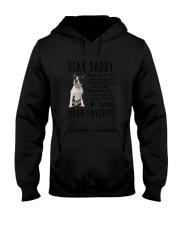 Boston Terrier Daddy Favorite 1805 Hooded Sweatshirt thumbnail