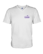 Witch logo V-Neck T-Shirt thumbnail