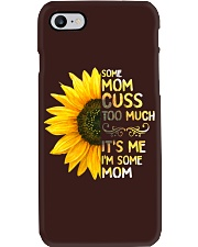 Some Mom Cuss Too Much Phone Case thumbnail