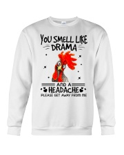 You smell like drama Crewneck Sweatshirt thumbnail