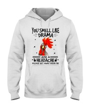 You smell like drama Hooded Sweatshirt thumbnail