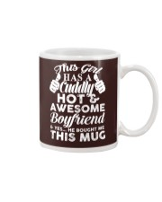 This girl has a cuddly hot and awesome boyfriend Mug thumbnail