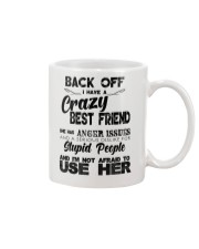 Crazy Best Friend with Anger Issues Hooded Sweat Mug thumbnail