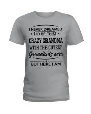 I'D BE THIS CRAZY GRANDMA Ladies T-Shirt thumbnail