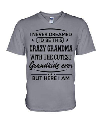 I'D BE THIS CRAZY GRANDMA