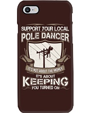 POLE DANCER KEEPING YOU TURNED ON Phone Case thumbnail