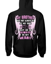 My Brother always in my heart Hooded Sweatshirt back