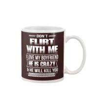 Girlfriend T-Shirt - Don't Flirt with me Hoodie Mug thumbnail