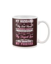Wife T-Shirt - My Husband is my best friend Mug thumbnail