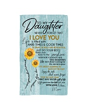 To My Daughter  Hand Towel thumbnail