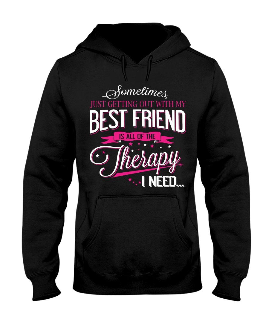 Best Friend - Therapy Hooded Sweatshirt