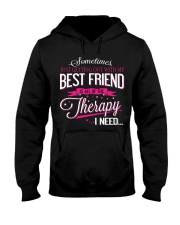 Best Friend - Therapy Hooded Sweatshirt front