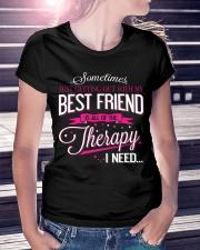 Best Friend - Therapy Ladies T-Shirt lifestyle-women-crewneck-front-7