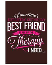 Best Friend - Therapy 11x17 Poster thumbnail