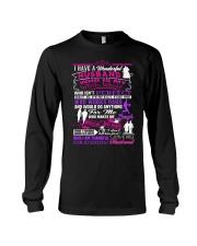 Wifes T-Shirt - Have a wonderful Husband Long Sleeve Tee thumbnail