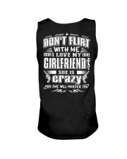 Boyfriends T-Shirt - Don't flirt with me Unisex Tank thumbnail