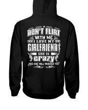 Boyfriends T-Shirt - Don't flirt with me Hooded Sweatshirt thumbnail
