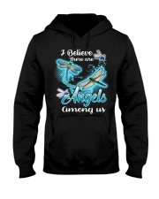 I BELIEVE THERE ARE ANGELS AMONG US Hooded Sweatshirt thumbnail