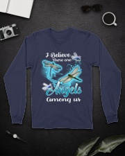 I BELIEVE THERE ARE ANGELS AMONG US Long Sleeve Tee lifestyle-unisex-longsleeve-front-5