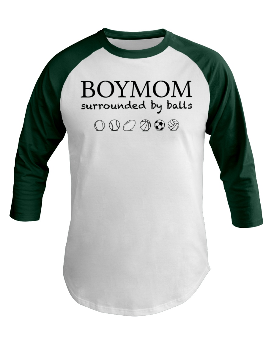 Boymom  Baseball Tee