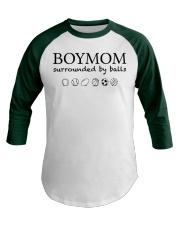 Boymom  Baseball Tee front
