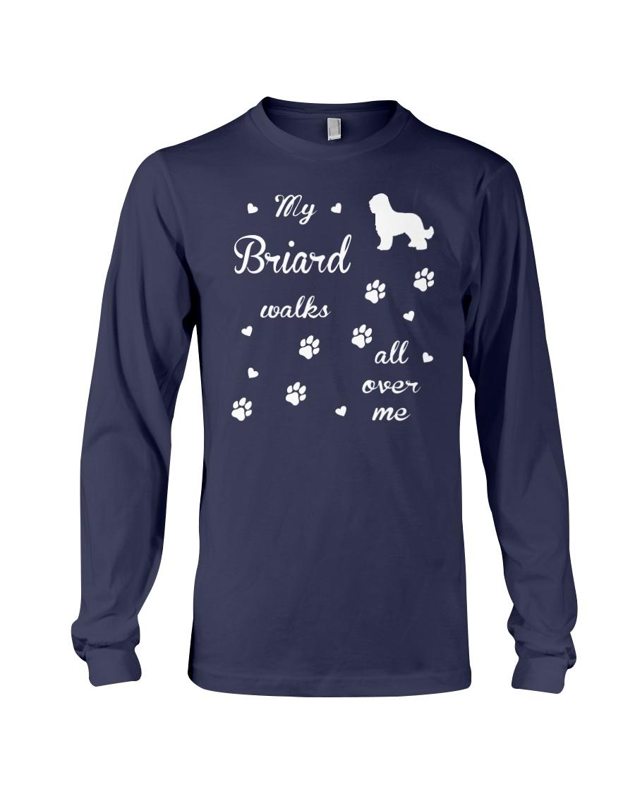 Briard Funny Gift Tshirt Long Sleeve Tee