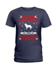 Maremma Sheepdog Ugly Christmas Sweater Funny Gift Ladies T-Shirt thumbnail