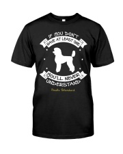 Poodle Standard Funny Gift Tshirt Classic T-Shirt thumbnail