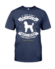 Poodle Standard Funny Gift Tshirt Premium Fit Mens Tee thumbnail
