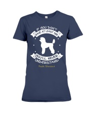 Poodle Standard Funny Gift Tshirt Premium Fit Ladies Tee thumbnail