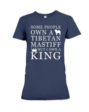 Tibetan Mastiff Funny Gift Tshirt Premium Fit Ladies Tee thumbnail