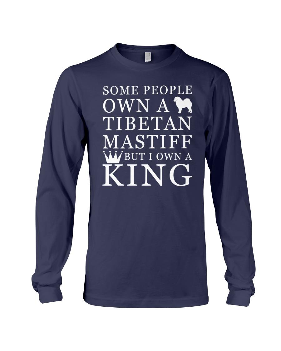 Tibetan Mastiff Funny Gift Tshirt Long Sleeve Tee